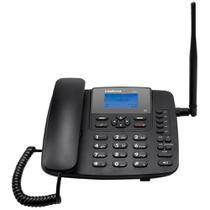 Telefone Celular Intelbras Rural Fixo CF6031, Preto, 3G, Função Modem 3G -
