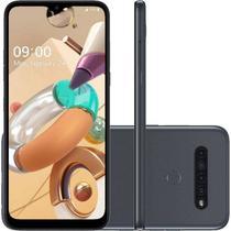 Telefone celular lg lmk410bmw.abratn k41s 32 gb titanio -