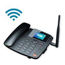 Telefone Celular Rural De Mesa 4G com Roteador Wifi 7 Bandas PROCS-5040W ProEletronic - Pro Eletronic