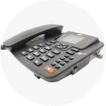 Telefone Celular Rural De Mesa 4G Proeletronic PROCS-5040W c/ Roteador Wifi 7 Bandas -