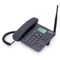 Telefone celular rural fixo de mesa quadriband 850/900/1800/1900 mhz  dual chip ca42s - Aquario