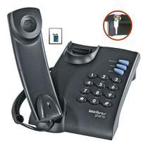 Telefone Com Chave prático ideal para ser utilizado em casa - Intelbras
