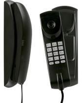 Telefone Com Fio De Parede Tc 20 Preto Intelbras -