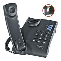 Telefone com Fio e Chave Intelbras Pleno resistente prático -