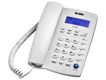 Telefone com Fio Elgin 42TCF3000 - Identificador de Chamada Viva Voz Chave Bloq. -