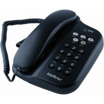 Telefone com fio Intelbras com Chave Preto TC500 -
