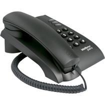 Telefone com Fio IntelBras Pleno Preto - 4080051 -