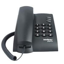 Telefone com Fio Intelbras Pleno Preto s/ Chave 4080051 -