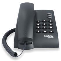 Telefone com Fio Intelbras Pleno - Preto -