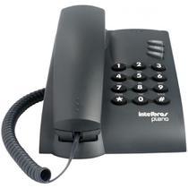 Telefone com fio INTELBRAS Pleno Preto -