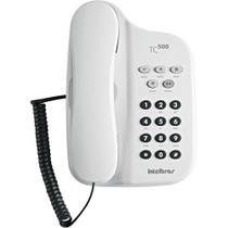 Telefone com fio tc 500 branco c/ chave - Intelbras