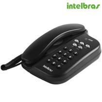 Telefone Com Fio TC500 Preto - Intelbras -