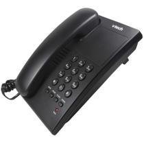 Telefone de Mesa e Parede Digital com Fio VTC105B Vtech Preto -