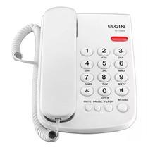Telefone Elgin De Mesa Com Fio Tcf 2000 Branco -