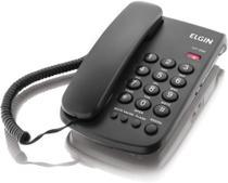 Telefone Elgin de Mesa Com Fio Tcf 2000 Preto -