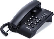 Telefone fixo intelbras pleno preto -