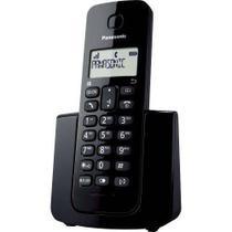 Telefone Fixo Sem Fio Panasonic Dect 6.0 1,9 Ghz Kx-tgb110lbb Preto -