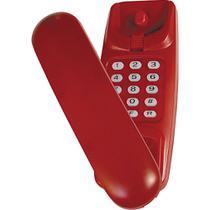 Telefone Gôndola com Bloqueador Teleji KXT-3026X - Vermelho -