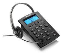 Telefone Headset Com Identificador Chamadas Hst-8000 Preto - Elgin