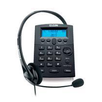 Telefone headset Elgin com Identificador de Chamadas hst-8000 -