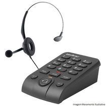 Telefone Headset HSB 50 Intelbras Tiara CHS 55 E Base Dbi 10 -
