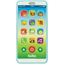 Telefone Infantil - Baby Phone - Azul - Buba -