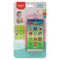 Telefone Infantil - Baby Phone - Rosa - 2 anos+, Buba -
