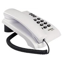 Telefone Intelbras Pleno Com Fio Cinza Ártico Sem Chave 4080055 -