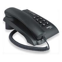 Telefone Intelbras Pleno Preto C/ Chave C/Fio -