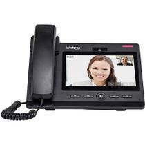 Telefone IP Intelbras TIP 638V Vídeo Chamada Câmera 1.3MB Display Touch Screen -