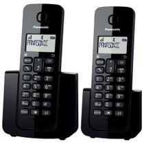 Telefone Panasonic KX - TGB112LBB Sem Fio Combo Dect 6.0 - Panasonic - Telefonia Fixa