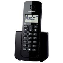 Telefone Panasonic Sem Fio ID KX-TGB110LBB Preto -