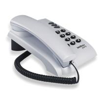 Telefone para Mesa ou Parede Pleno Cinza Ártico Intelbras -
