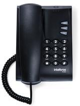 Telefone pleno preto - Intelbras