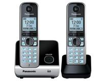 Telefone S/ Fio Panasonic 1 Ramal DECT 6.0 Digital - Ientificador de Chamadas - KX-TG6712LBB