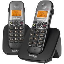 Telefone sem Fio + 1 Ramal TS5122 Preto 4125122 Intelbras -