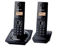 Telefone Sem Fio 1,9 GHz Panasonic KX-TG1712LBB - Dect 6.0 Identificador de Chamadas + 1 Ramal