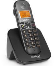 Telefone sem fio com id e com entrada para fone de ouvido ts 5120 preto - Intelbras
