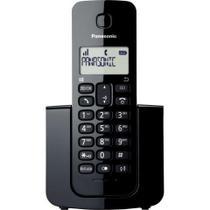 Telefone sem Fio com ID KX-TGB110LBB Preto Clássico PANASONIC - Hayamax