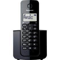 Telefone sem Fio com ID KX-TGB110LBB Preto PANASONIC -