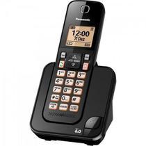 Telefone sem Fio com ID KX-TGC350LBB Preto Panasonic -