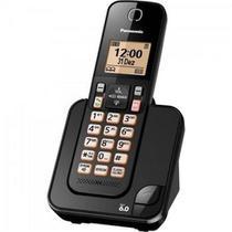 Telefone Sem Fio Com Id KX-TGC350LBB Preto - Panasonic -