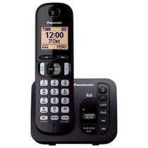 Telefone sem Fio com ID/Secretária/Viva Voz KX-TGC220LBB Preto PANASONIC -