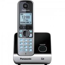 Telefone Sem Fio Com Identificador de Chamadas Kx-tg6711 Preto Panasonic -