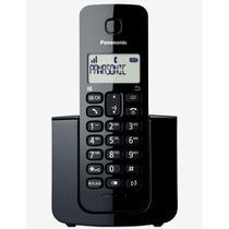 Telefone Sem Fio Com Identificador de Chamadas Panasonic DECT 6.0 Preto - KX-TGB110LBB -
