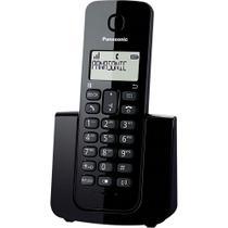 Telefone sem Fio com Identificador de Chamadas Panasonic KX-TGB110LBB Preto -
