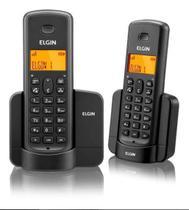 Telefone Sem Fio Com Identificador de Chamadas Viva Voz 1 Ramal Elgin - TSF8002 -