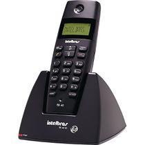 Telefone sem Fio com Identificador Dect 1.9GHz TS 40ID Intelbras - Preto -