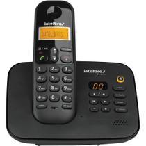 Telefone sem Fio com Identificador e Secretária Intelbras TS3130 Preto -