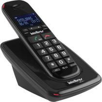 Telefone sem fio com  identificador ts 63 v 1.9ghz preto - INTELBRAS